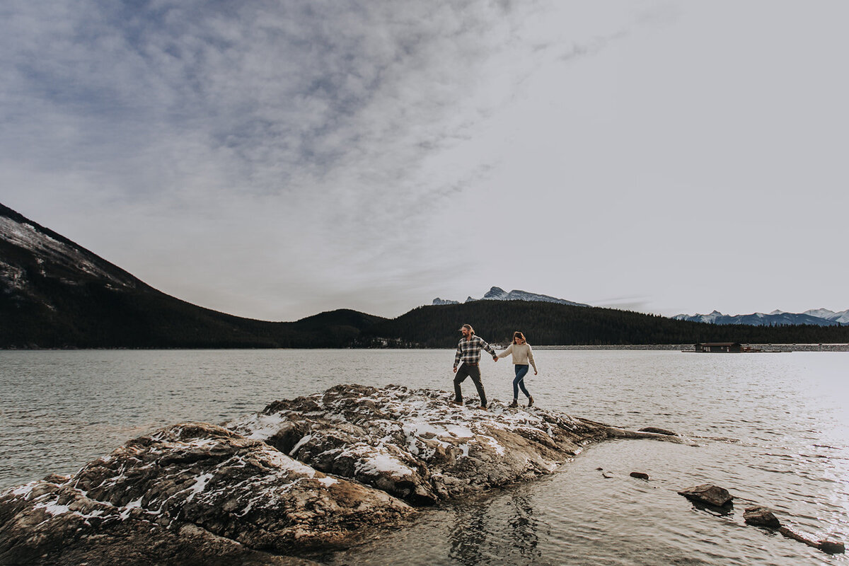 Banff Adventure Elopement Photographer.100