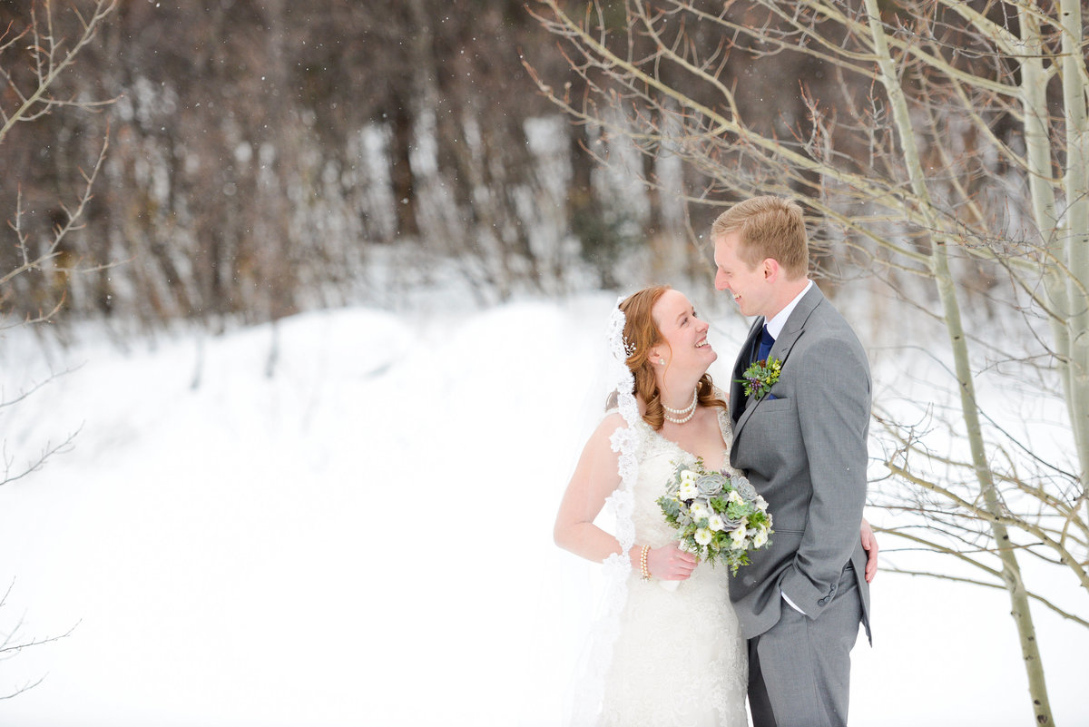 Colorado winter wedding photography