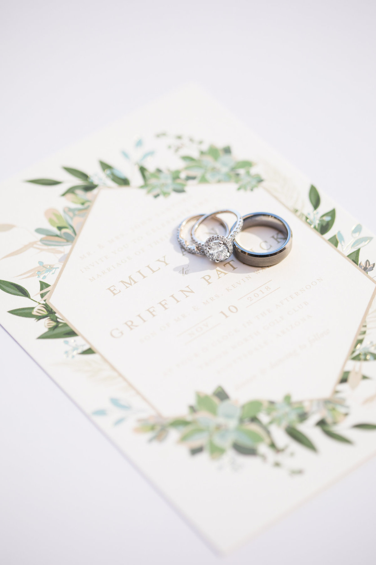 scottsdale-desert-wedding-rings-on-wedding-invitation