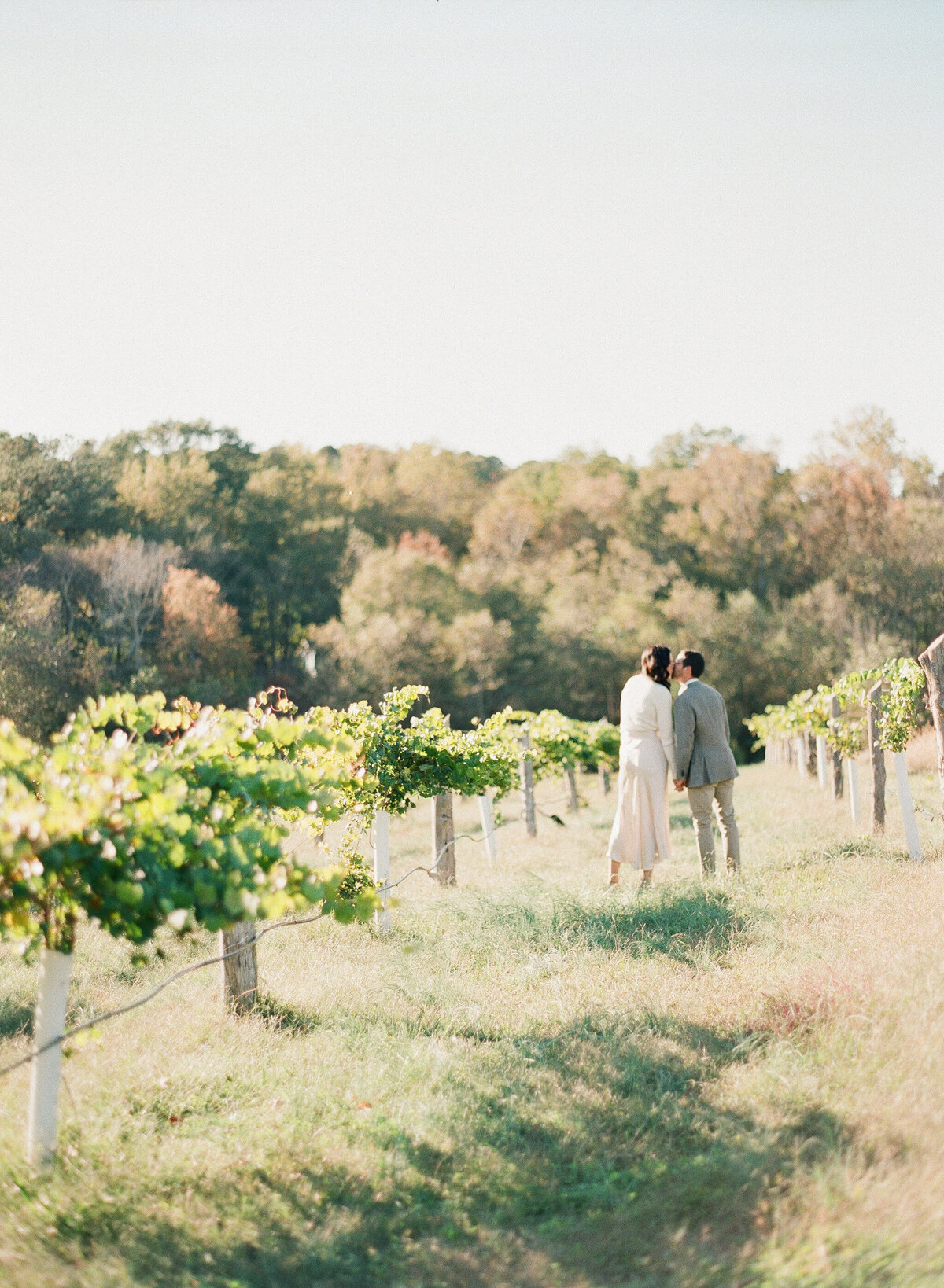 French Vineyard Engagement Photography at The Meadows in Raleigh, NC 6