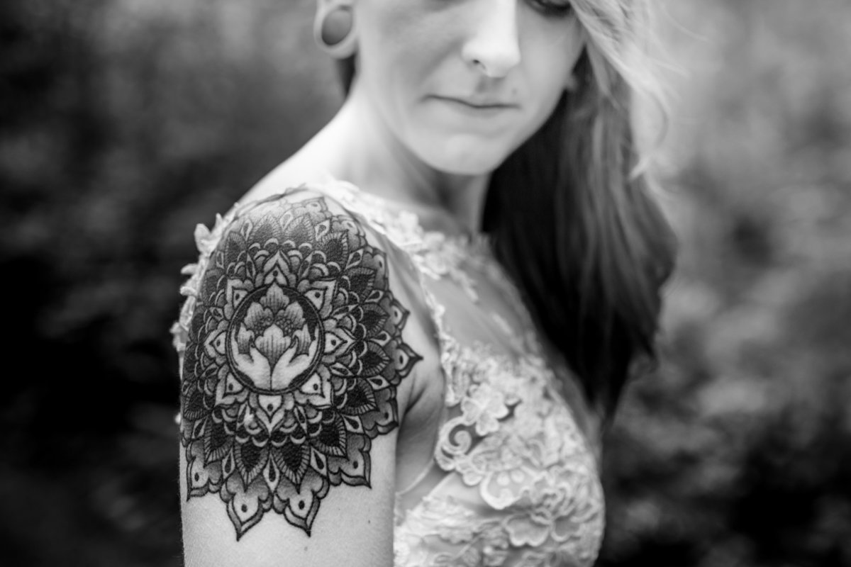 Tattoo bride - mandala