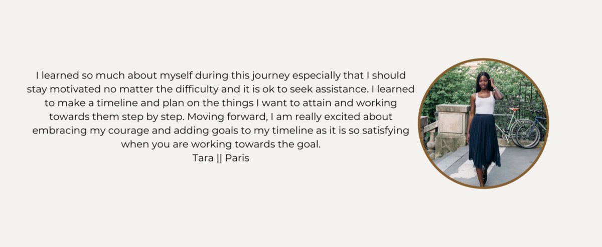 Coaching Testimonial - Tara Edward
