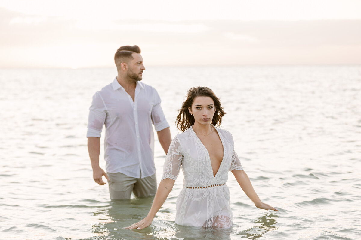 Beach Elopement in Saint Petersburg, Florida 49