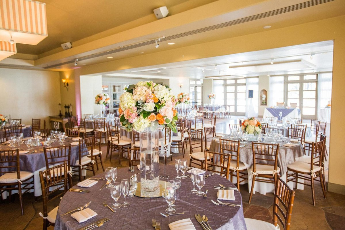 Turnip Rose Promenade Gardens Wedding Reception