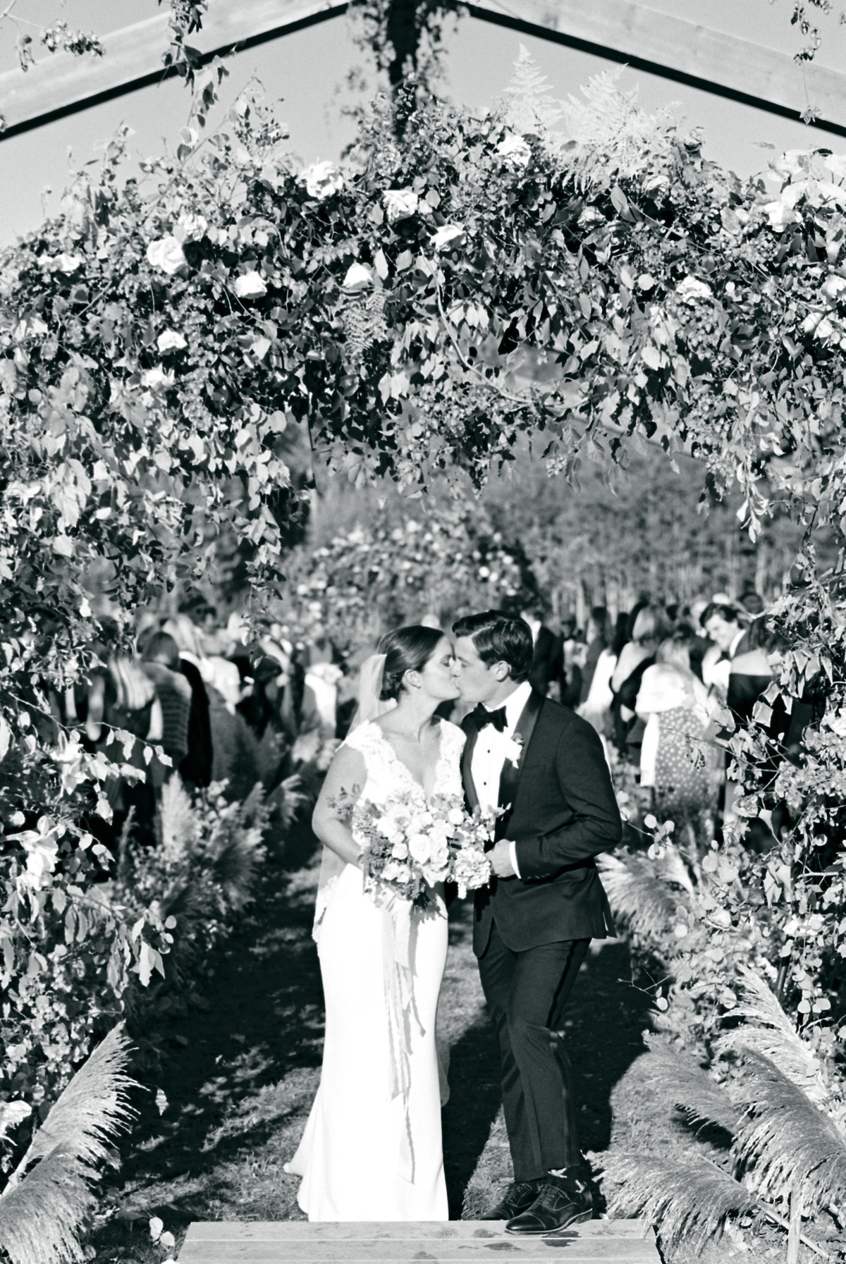 Fall Wedding Ceremony Montana