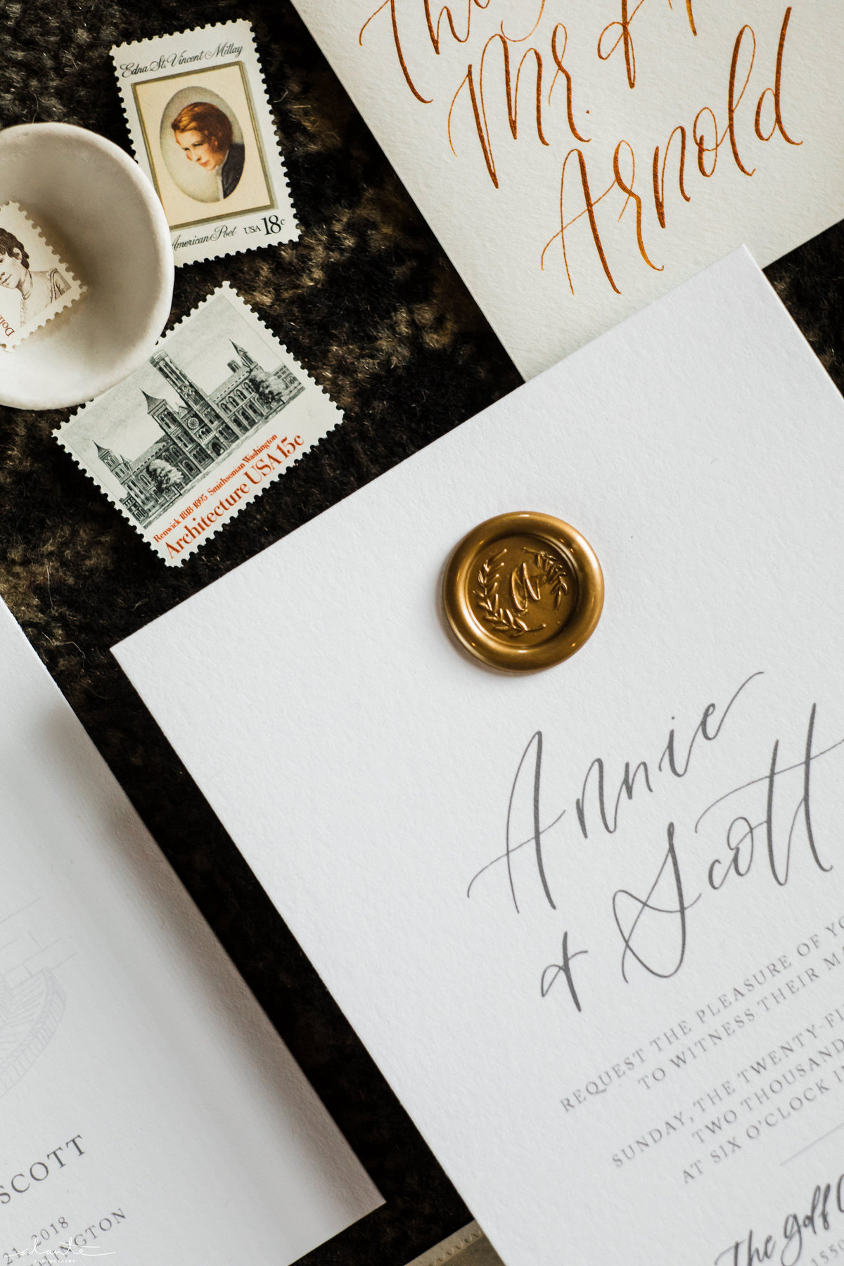wax seal wedding invitation stationery-21