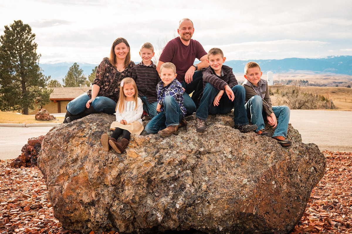 Family photography in Sheridan Wyoming