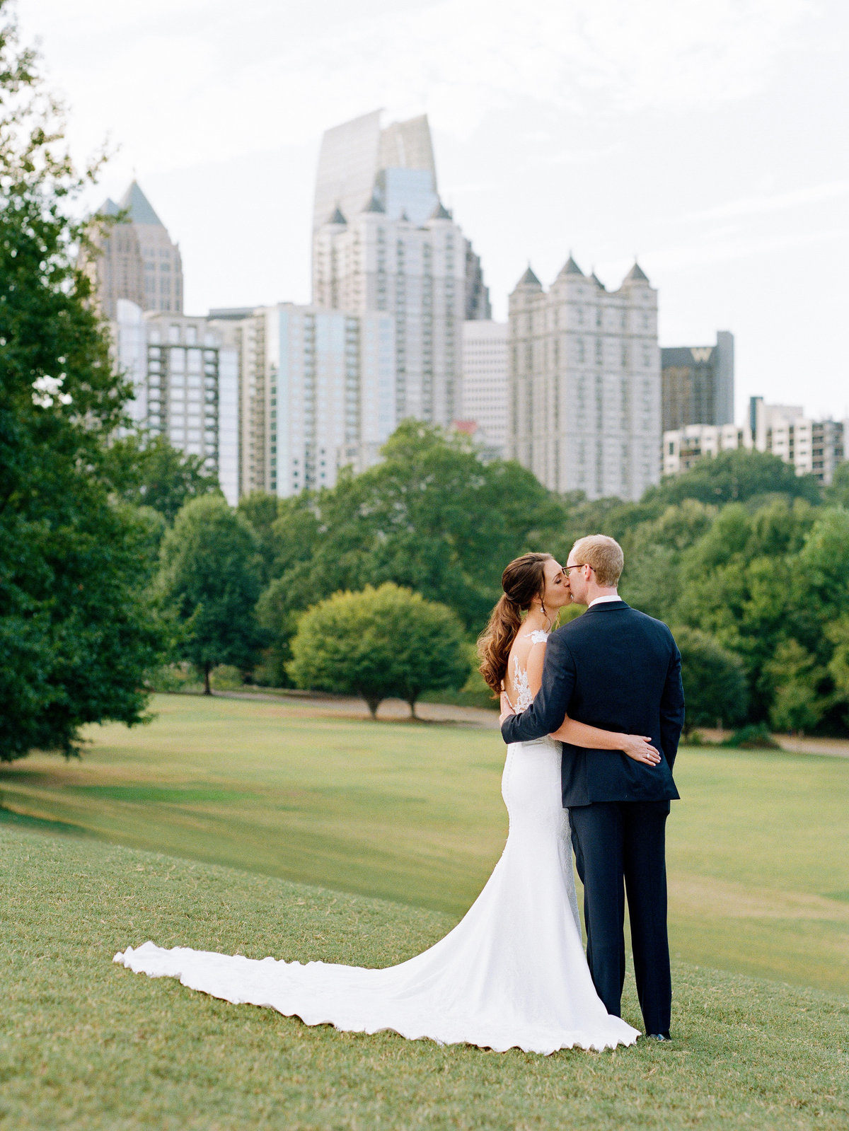 Wedding Photo Greystone at Piedmont Park Wedding