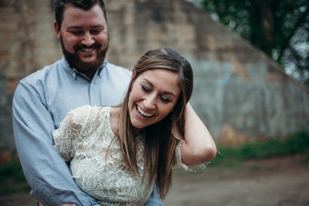 Swamp Rabbit engagement session by Greenville wedding Photographer Simply Violet Photography