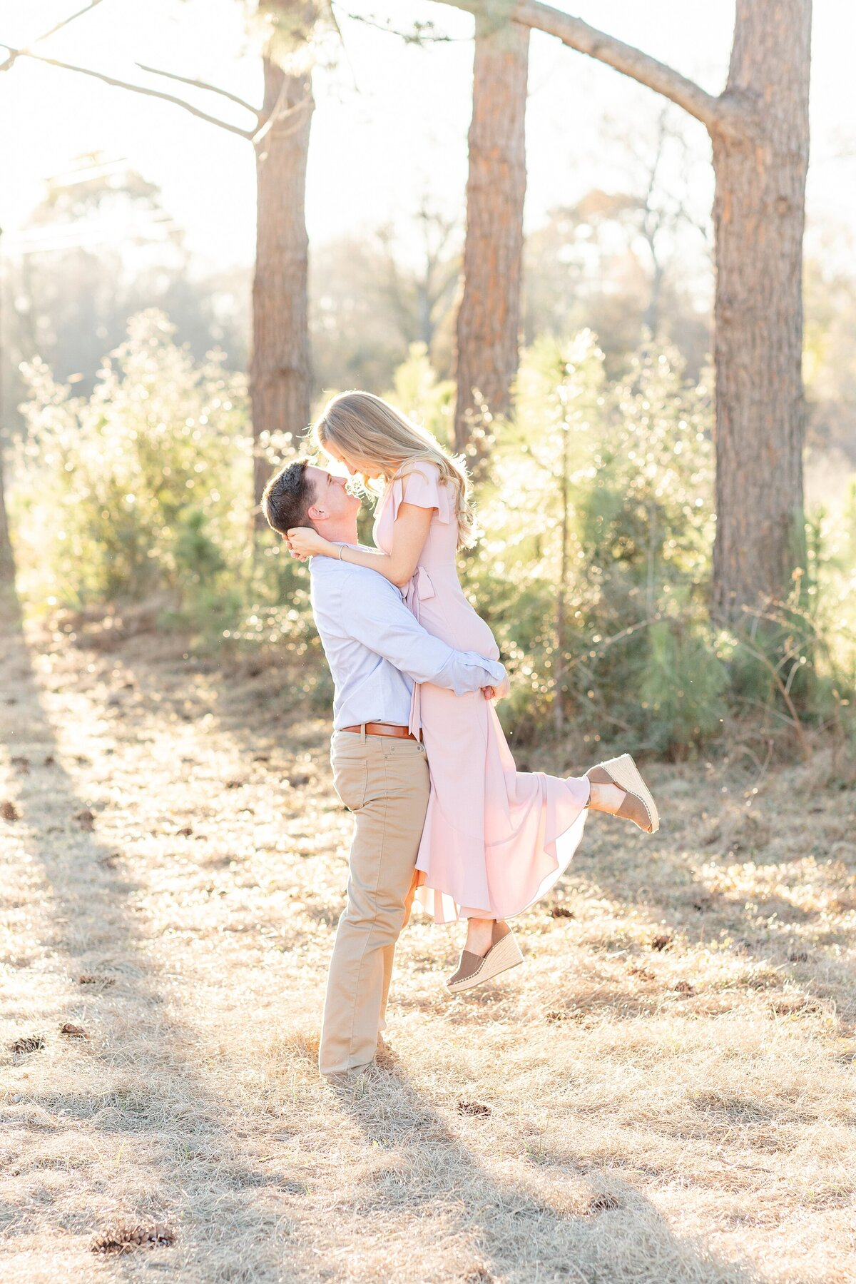 Houston Engagement Photography Pretty