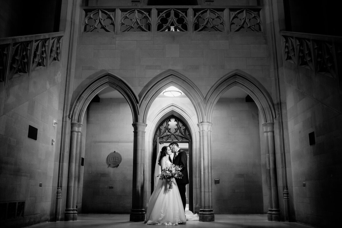 A Duke University Chapel wedding