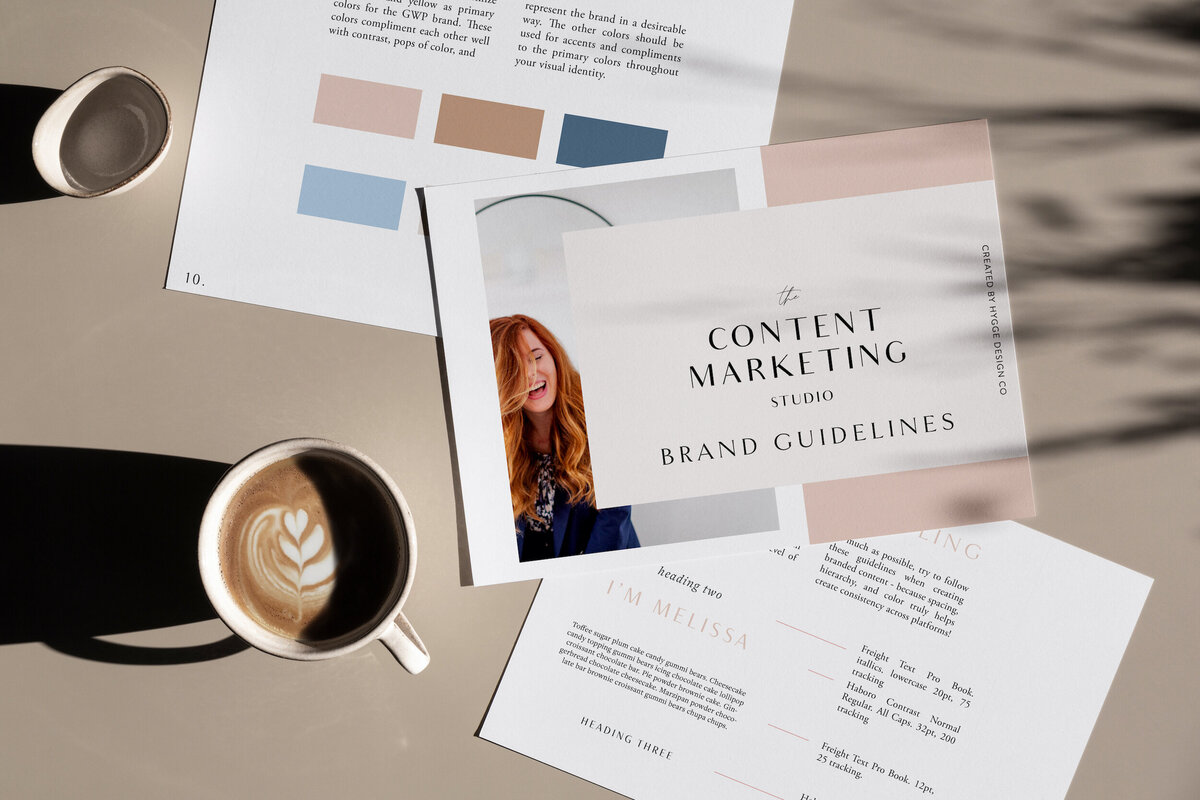 The content markting studio brand guide