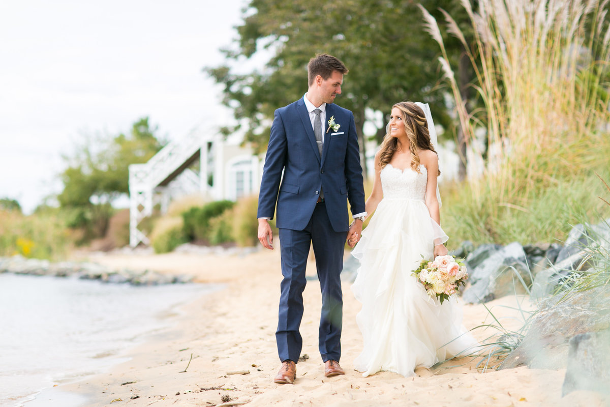 Chesapeake bay beach club wedding photographer annapolis