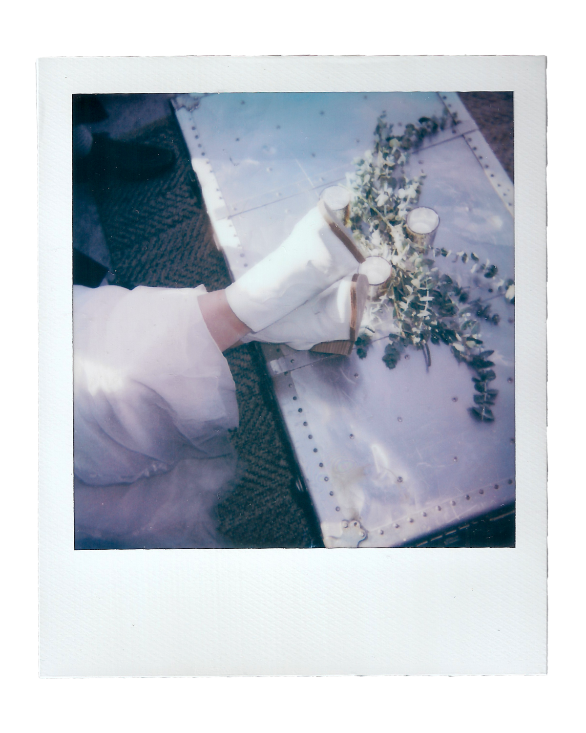 Becca + Katie | The Saltbox Barn - Fir Island, WA | Polaroids00001