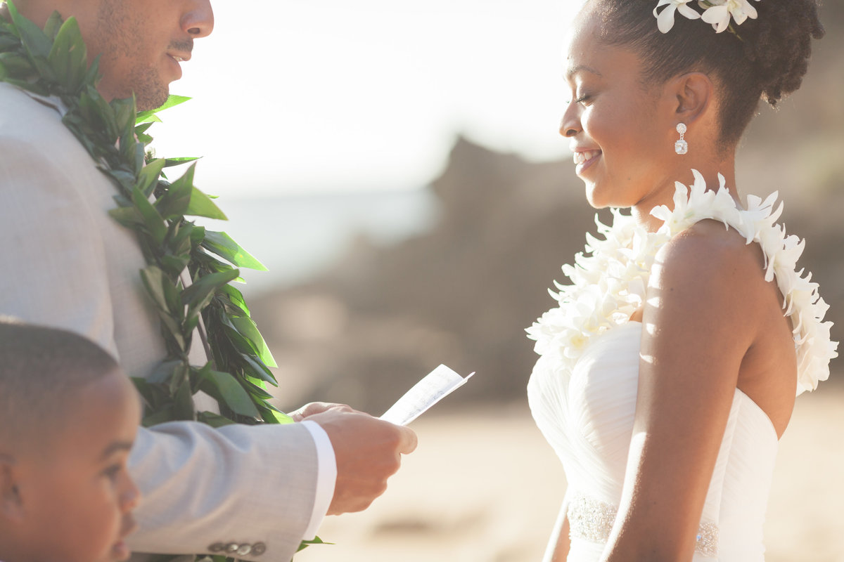 Maui Wedding photographer beach