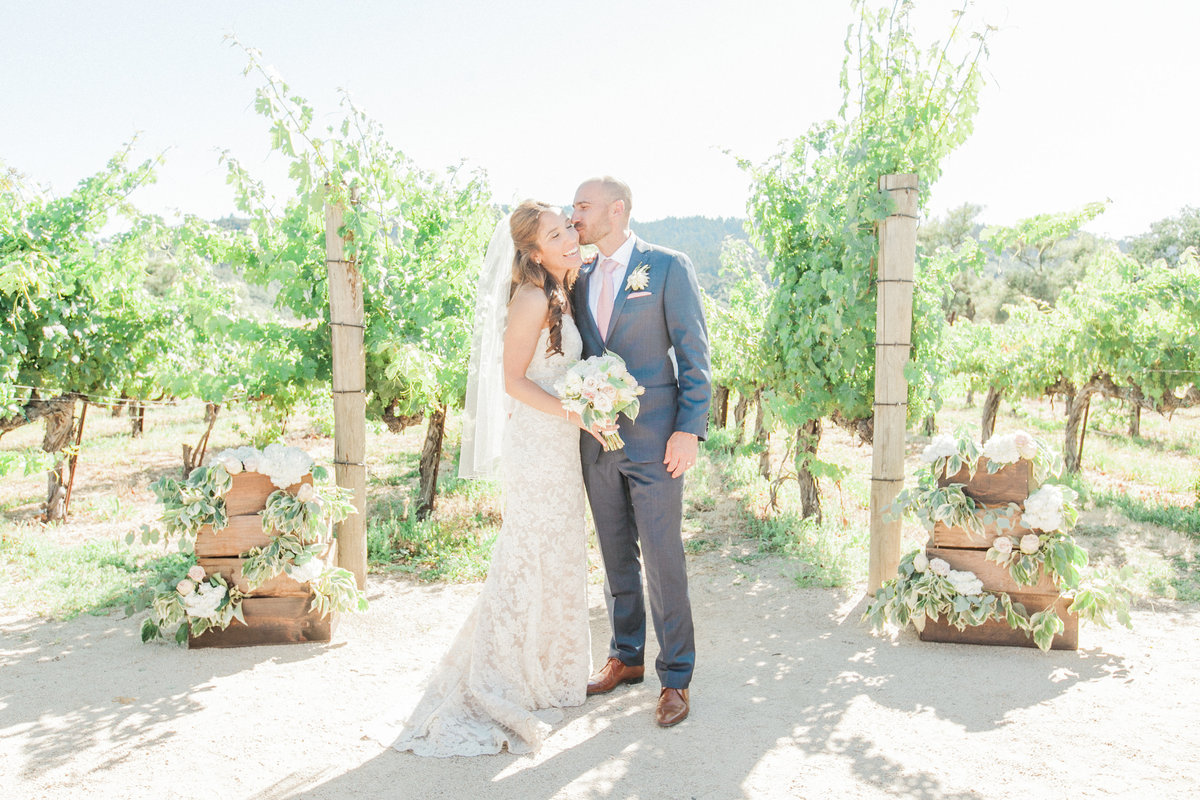 Intimate Napa Valley Wedding