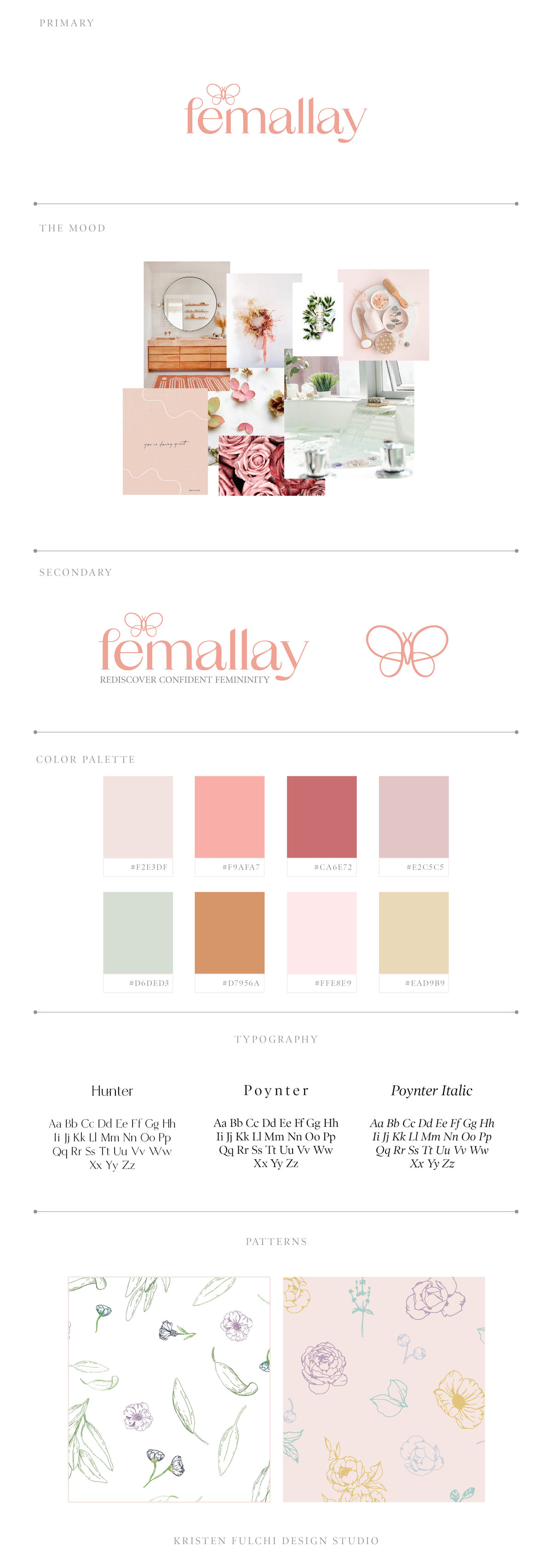 Femallay - Brand Style Board - Updated