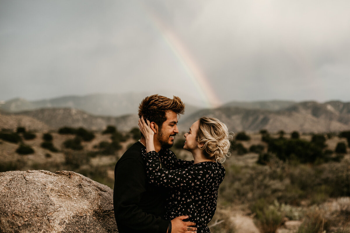 Sandia-Foothills-Engagement-Photography-Albuquerque-7