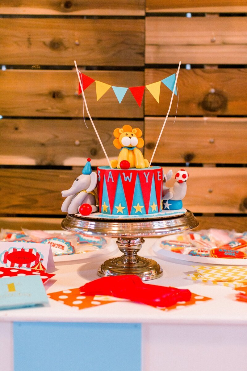 Circus Themed 1st Birthday Indianapolis Party Planner_0066