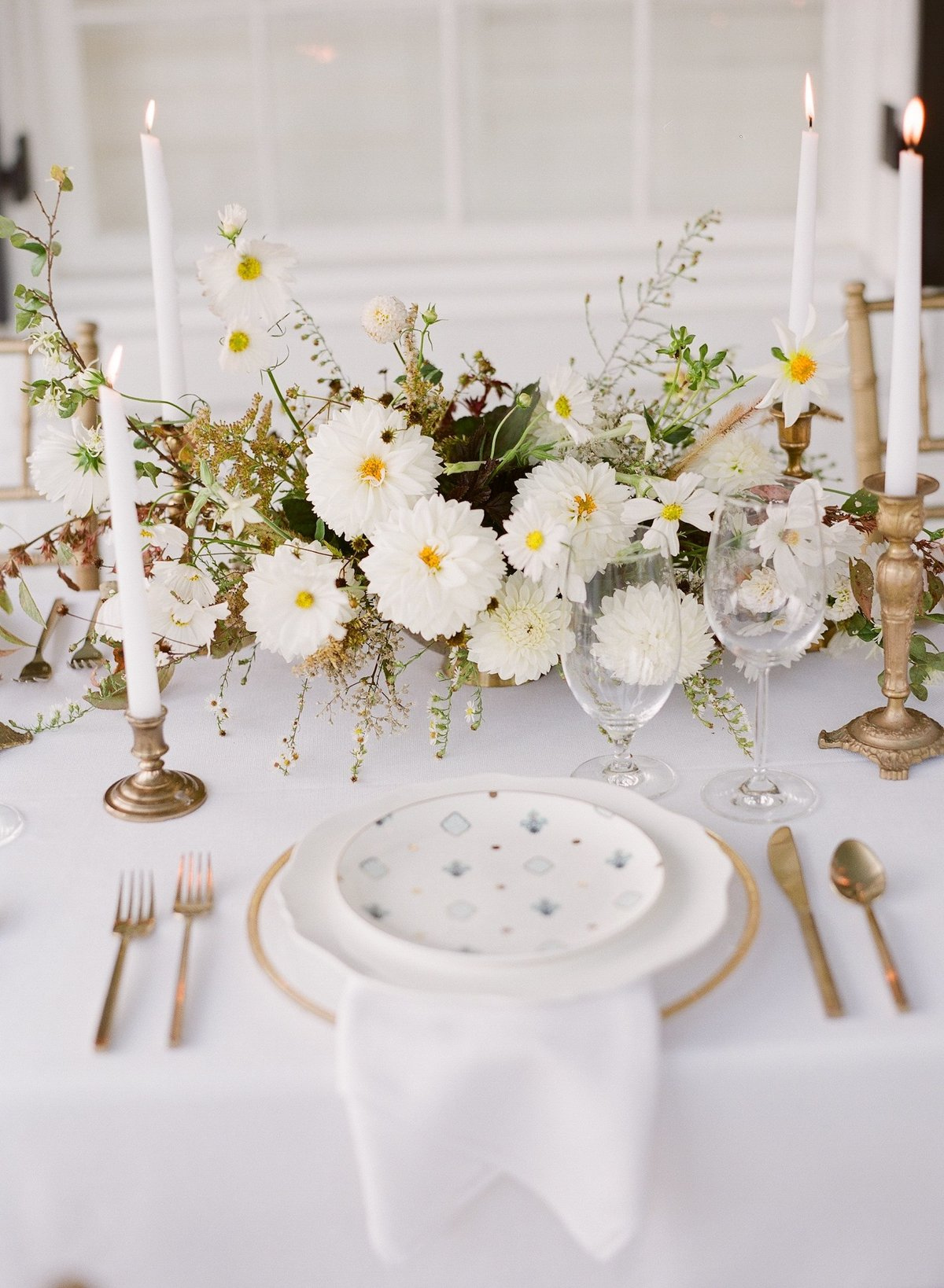centerpiece gradient and hue Kelly Hornberger photography