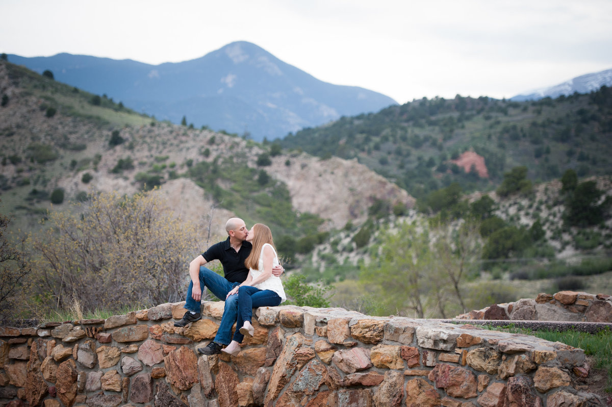 Engagement photos in Colorado