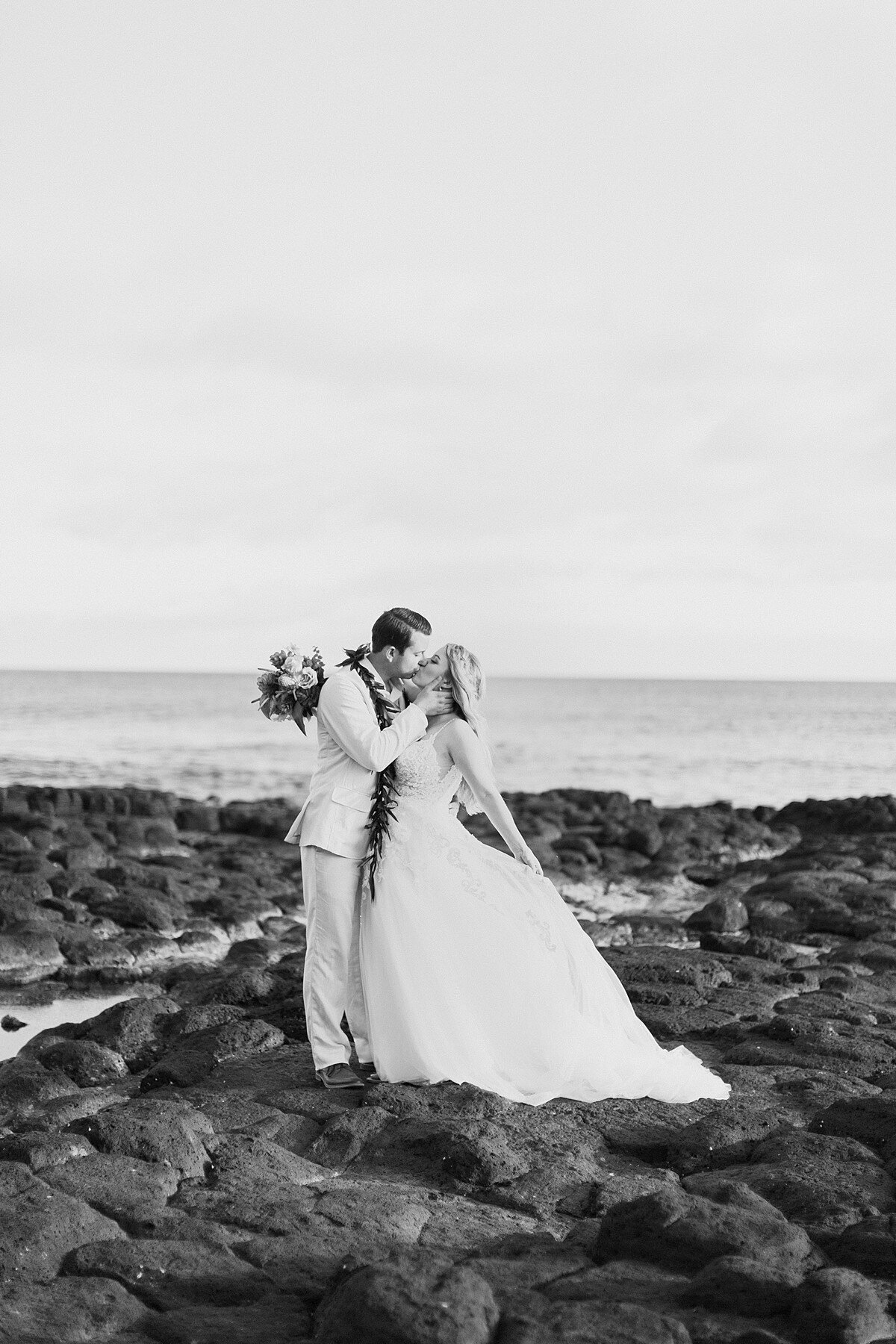 Stunning Hawaii Destination Wedding Photography on the island of Kauai.