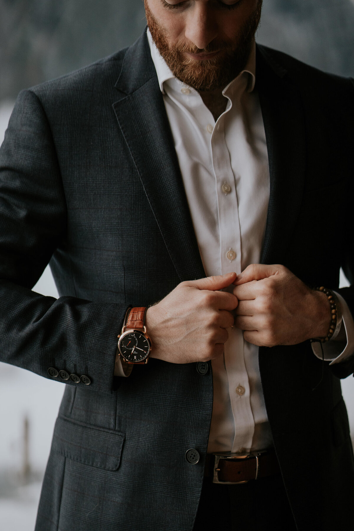 Watch and suit. Product photographer Leeds
