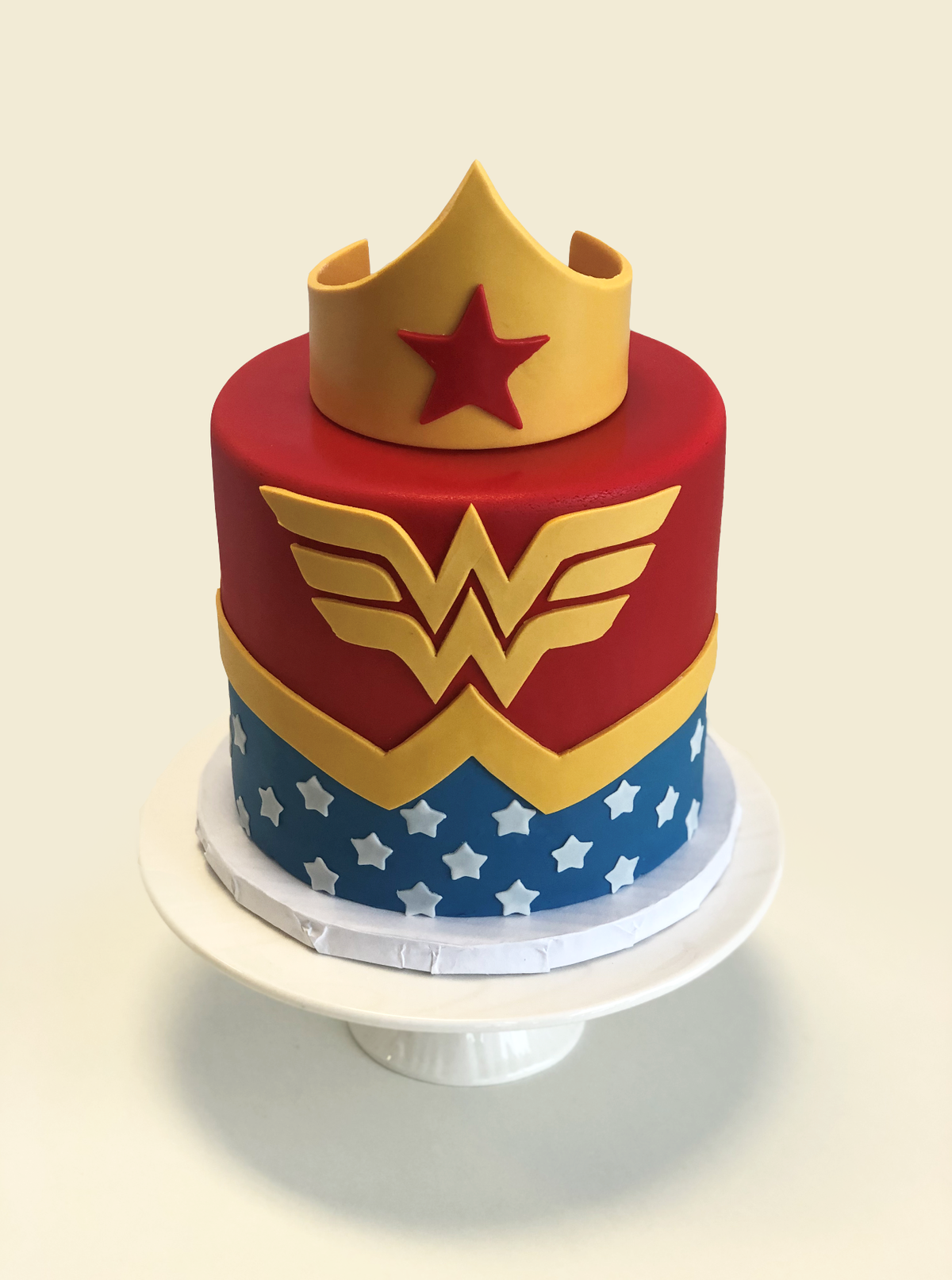 Whippt Desserts - Wonder Woman Cake Feb 2019
