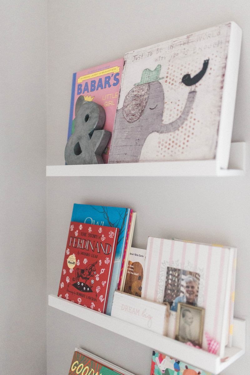 books in nursery