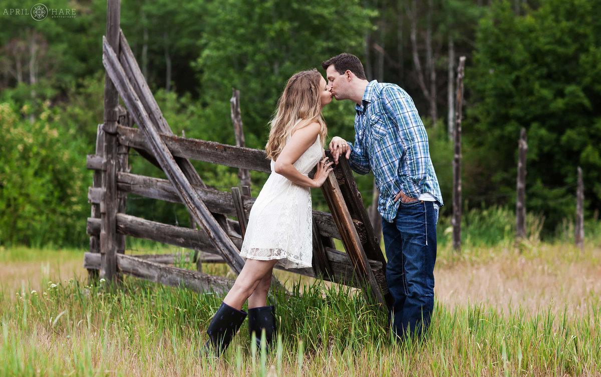 Sylvan Lake State Park Engagement Photography Eagle Colorado