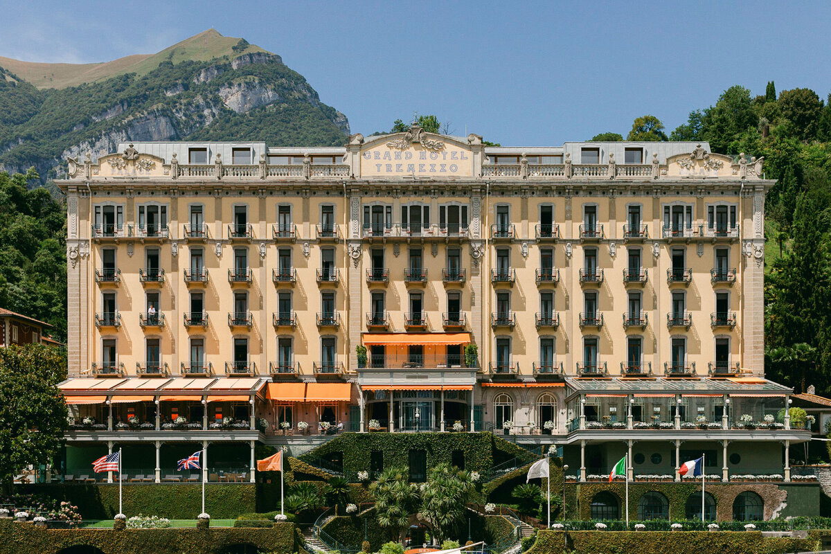 Lake Como Wedding Italy hotel Tremezzo