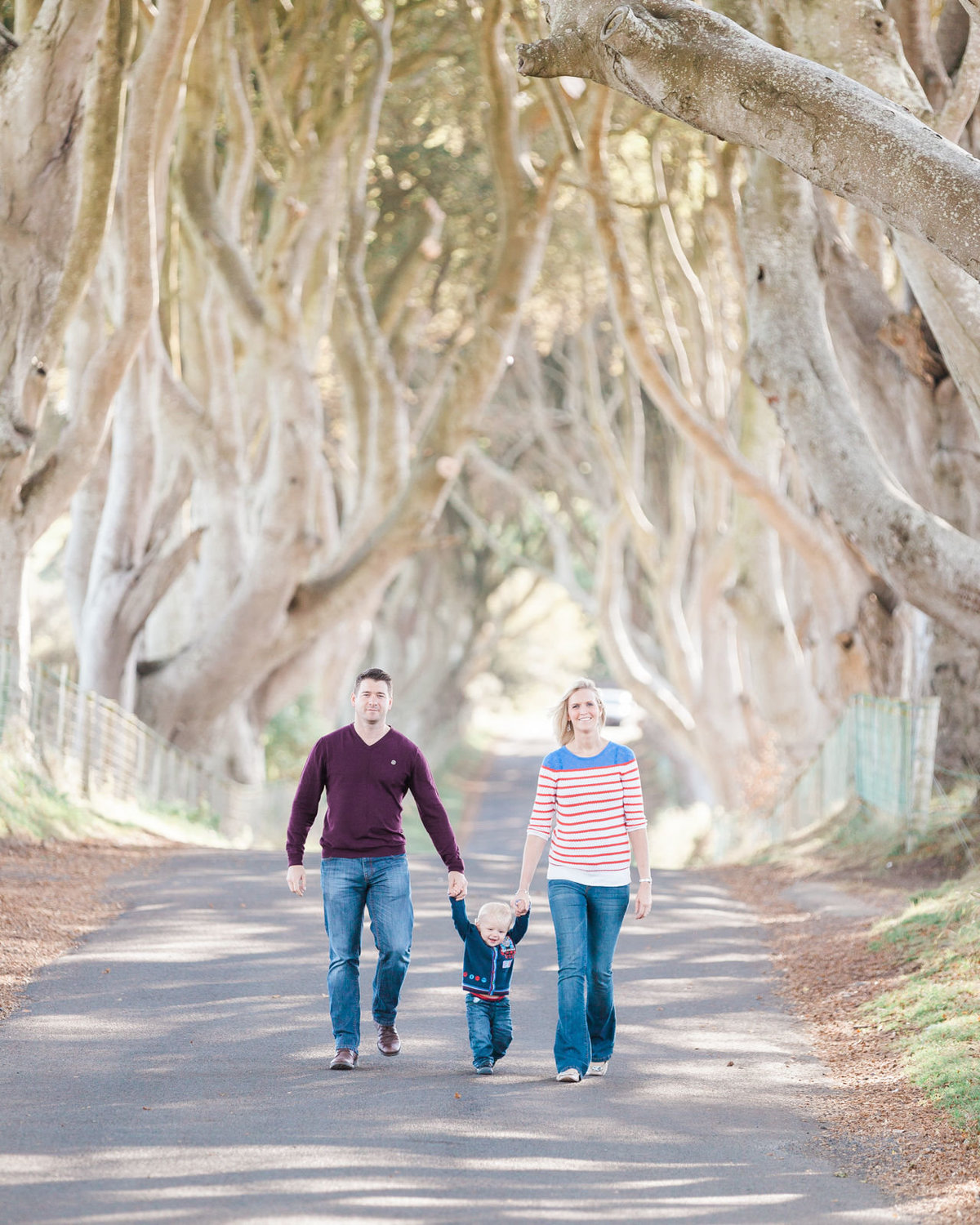 Family Photos Londonerry - Dark Hedges