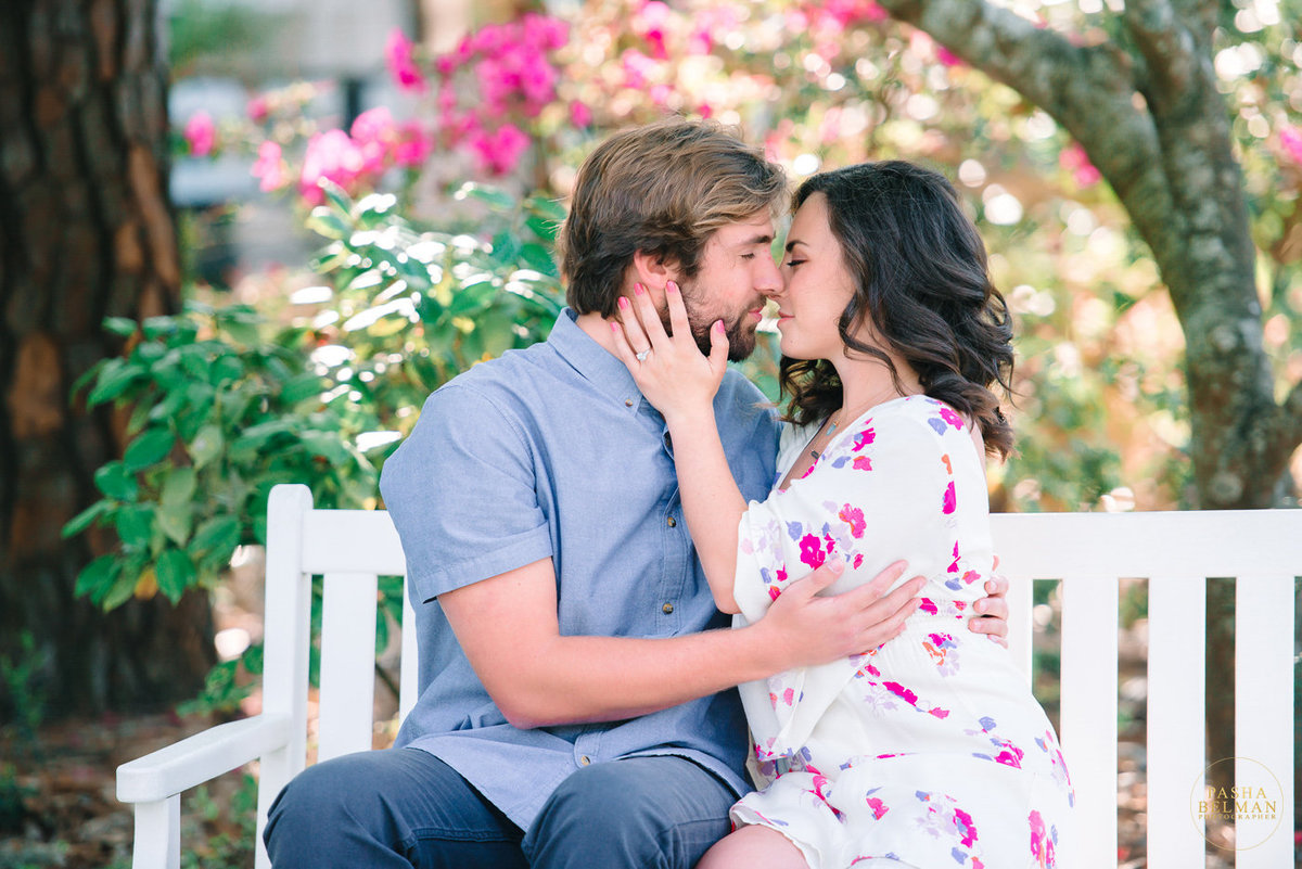 Myrtle Beach Engagement Photography | Engagement Pictures Ideas | Fine Art Film Inspired Photography | Charleston Engagement Photography