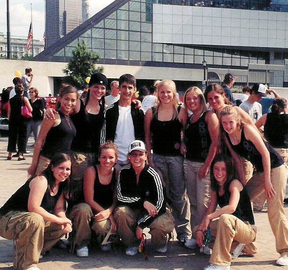 TDC dancers performed for the grand opening of the cleveland Skatepark by the Rock & Roll Hall of Fame.