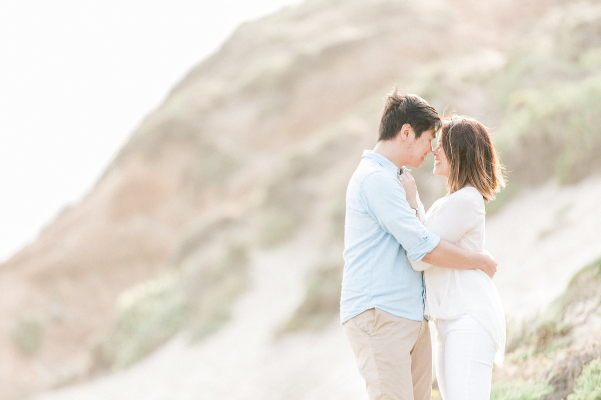 Big Sur Ocean Ridge Engagement Session