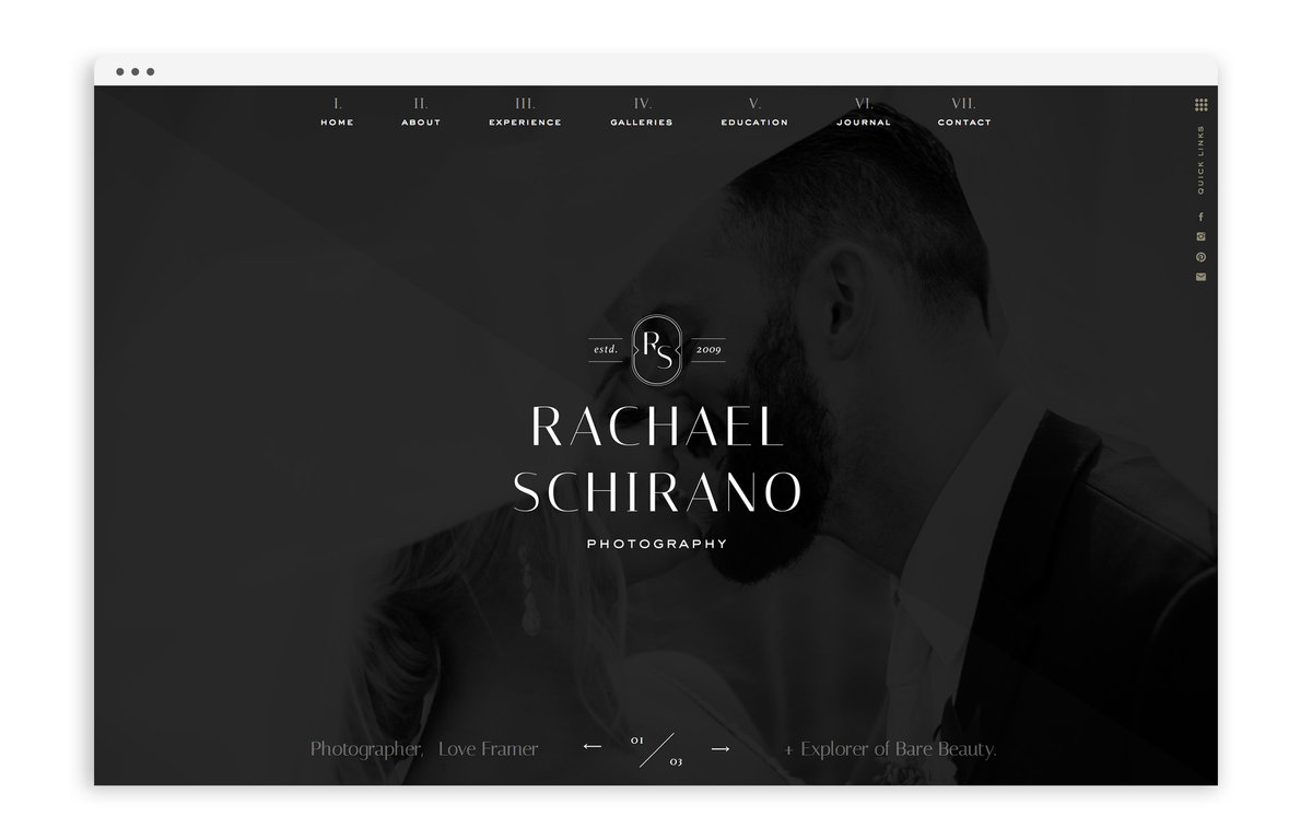Rachael Schirano - Custom Brand and Showit Website Design by With Grace and Gold - 28
