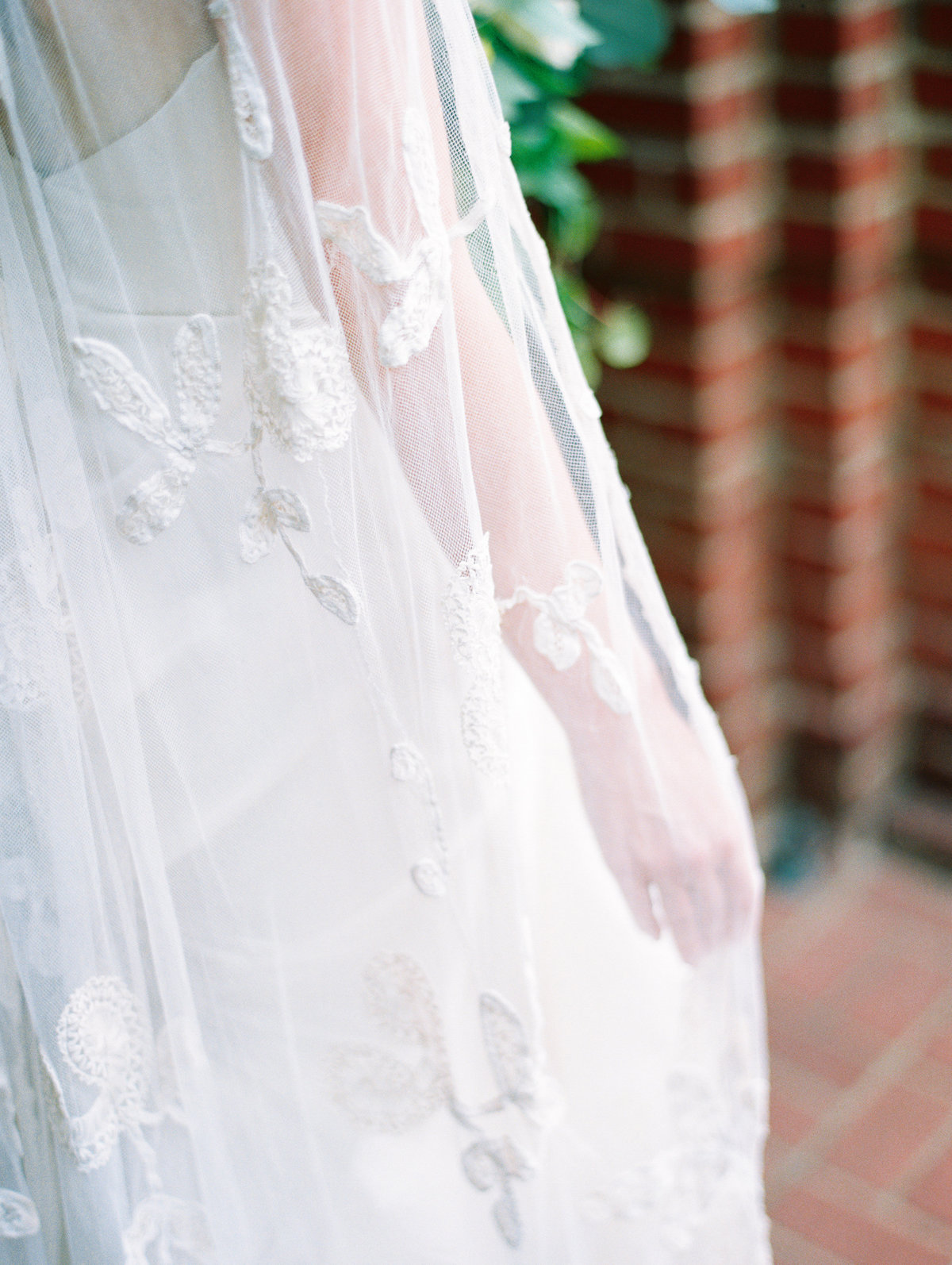 custom wedding veil by annie eckstrom bridal