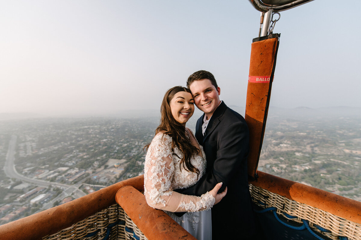 Hot Air Balloon Elopement Marie Monforte Photography-121