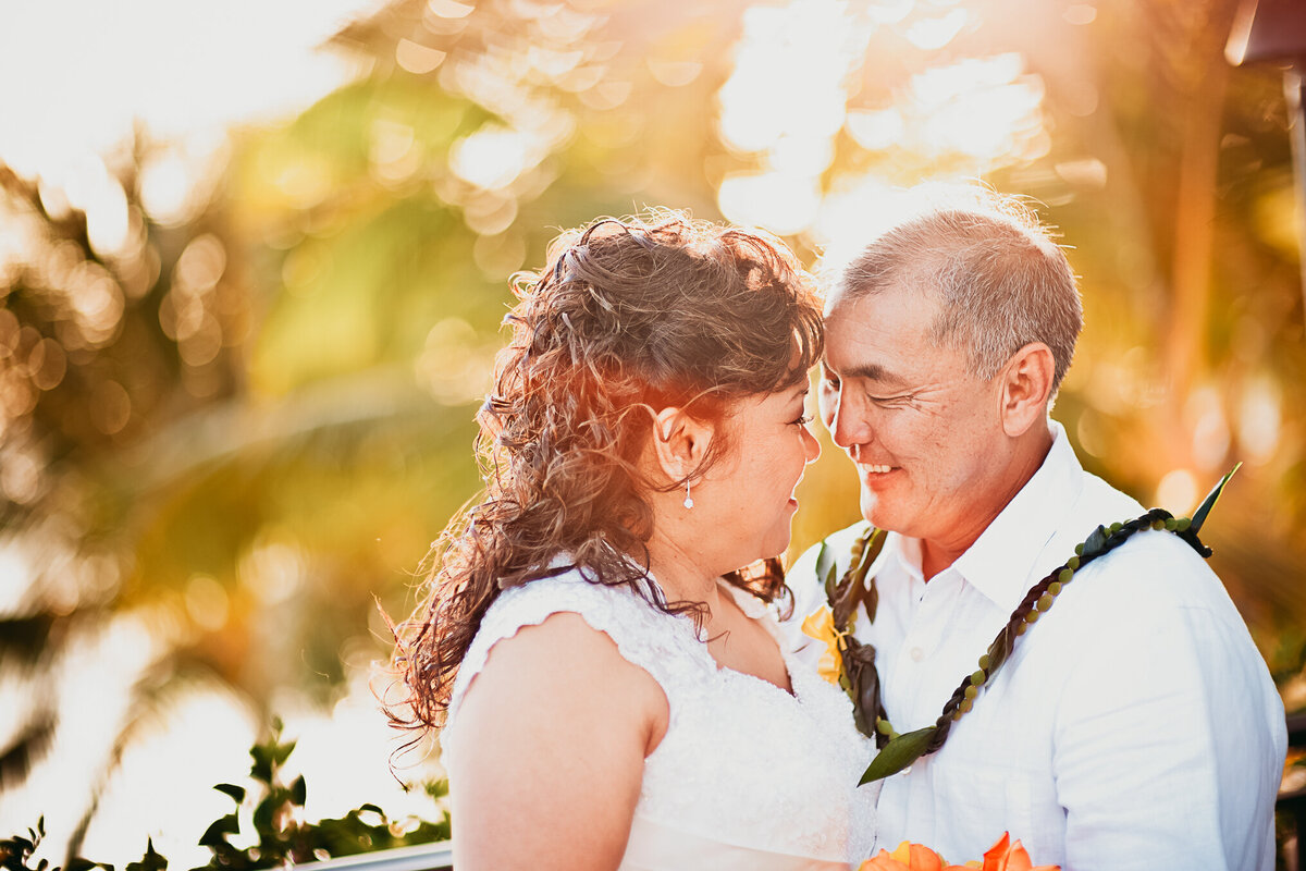 Bride and Groom Photos in Hawaii