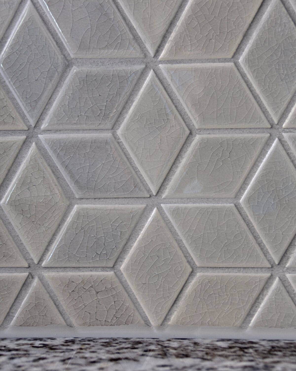 Gray Hexagon Tiles Kitchen Design Charlotte NC