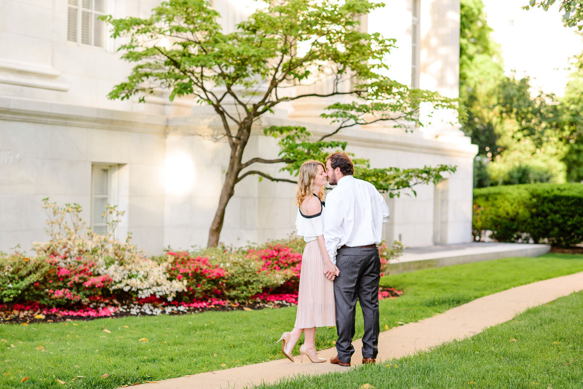 DC Sunrise Engagement Session-DAR Constitution Hall (22)