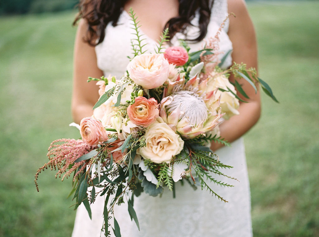 bridal bouquet delaware wedding florist