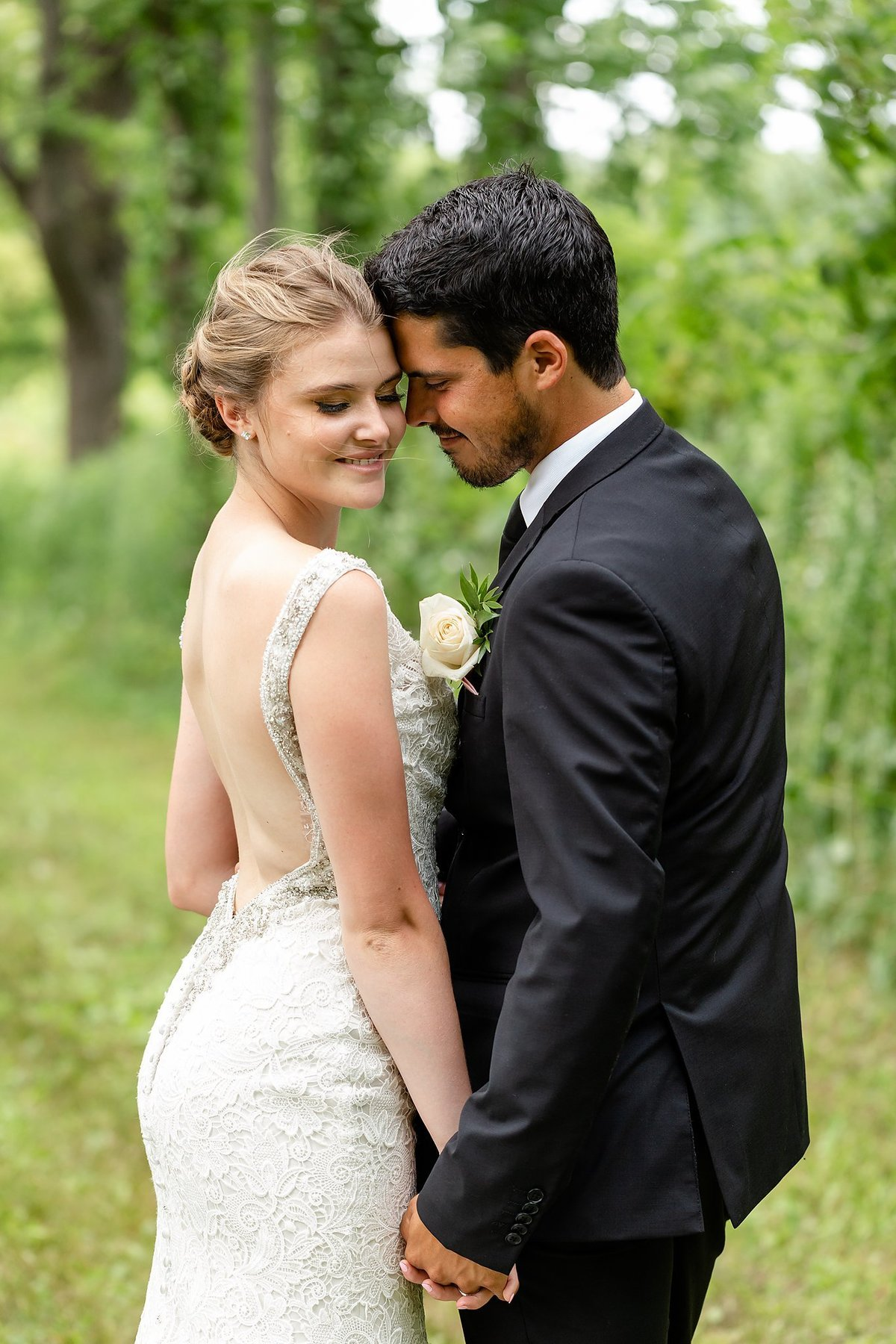 Southwestern Ontario Summer Farm Wedding | Dylan and Sandra Photography 197