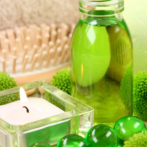 green apple liquid soap