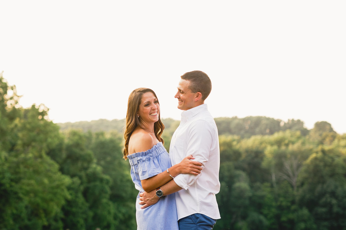Springton Manor Engagement Session Chester County PA 17