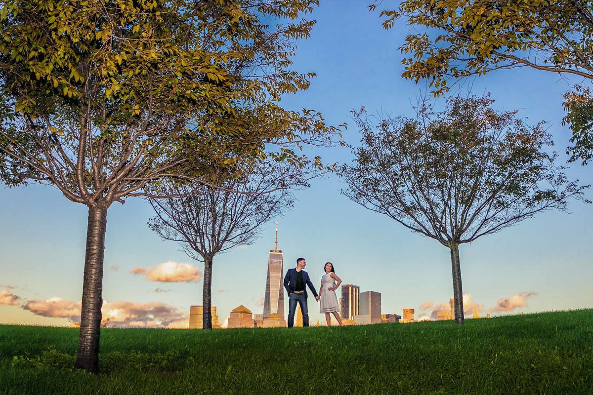 NJ Wedding Photographer Michael Romeo Creations liberty state park
