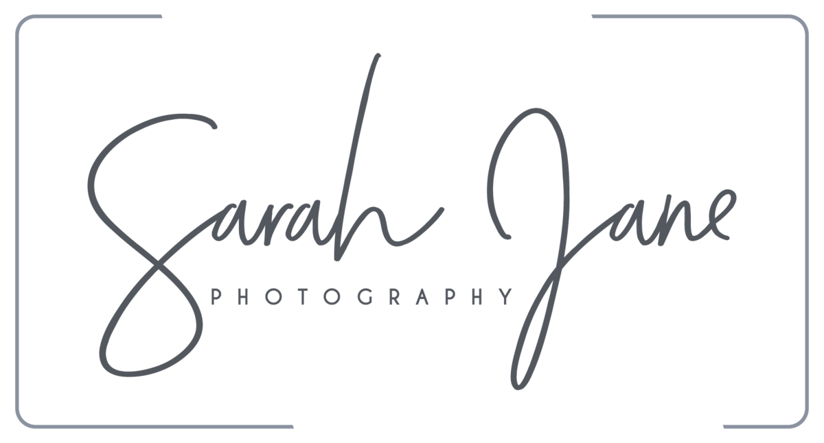 Sarah Jane Photography Primary Logo - Watermark in Full Color