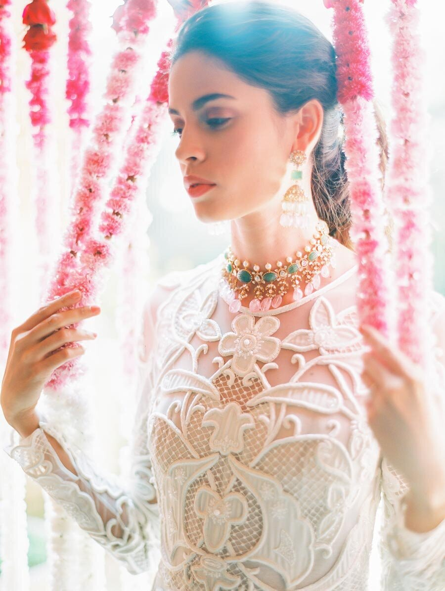 Indian Wedding Atrire Fine Art FIlm Photographer Bonnie Sen Photography