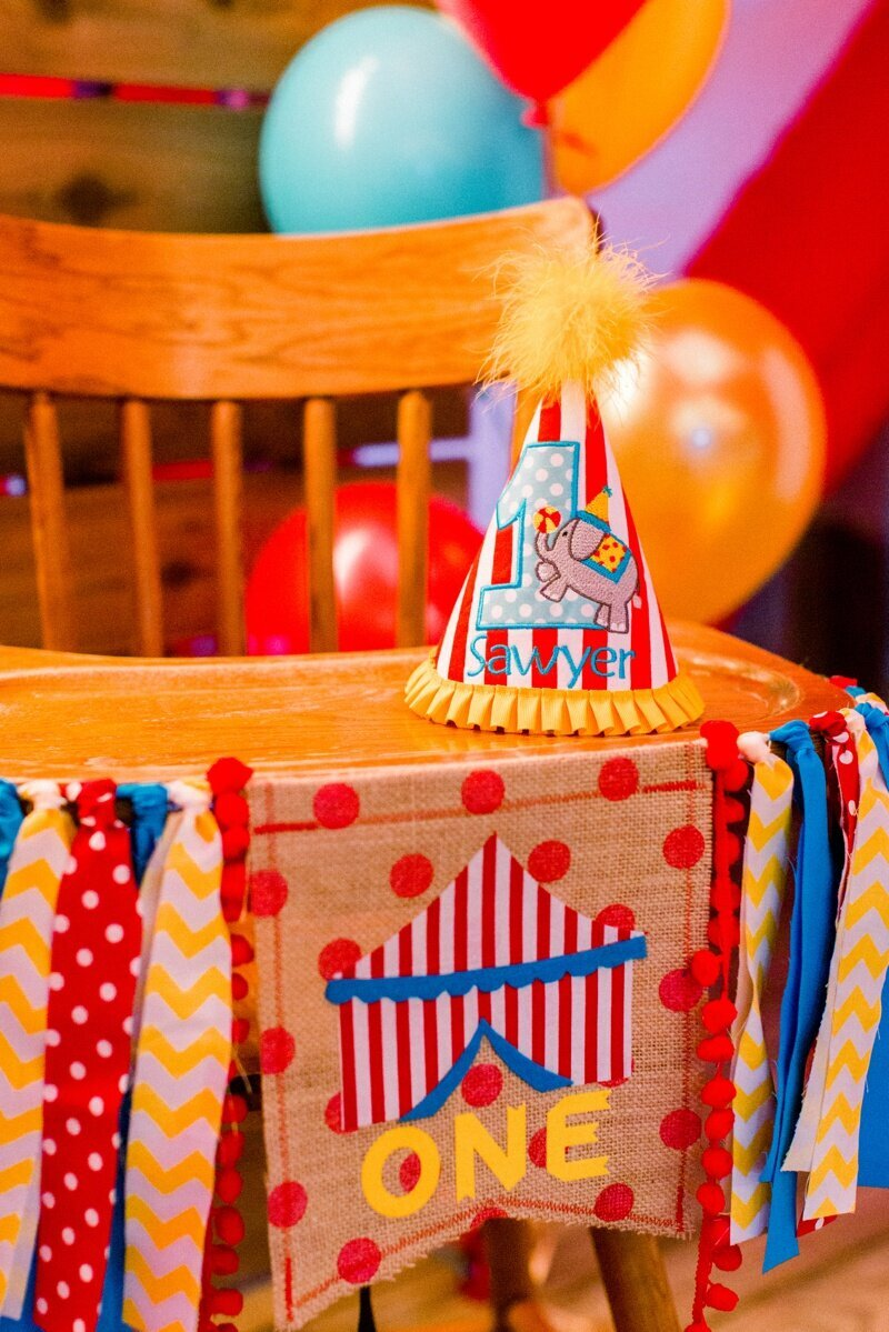 Circus Themed 1st Birthday Indianapolis Party Planner_0002