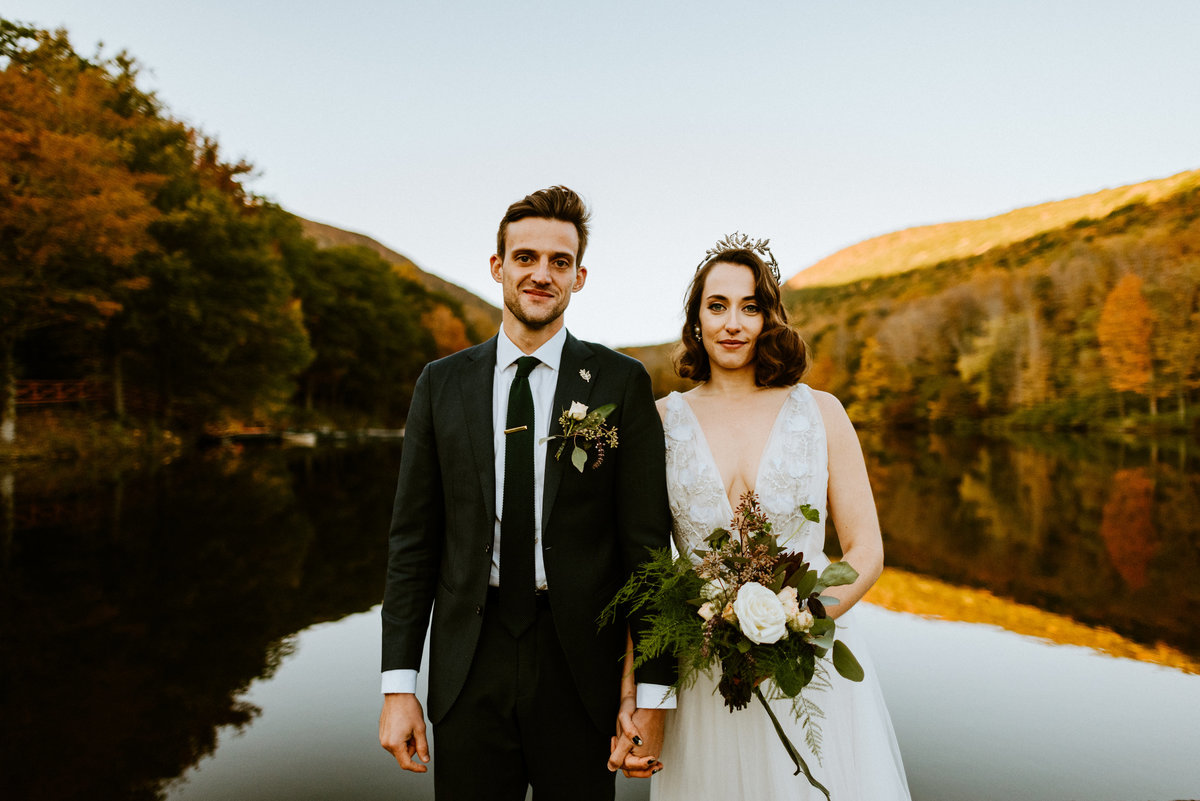 Catskill Mountain wedding